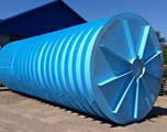 Горизонтальная подземная емкость на 50 кубов производство AlePlast